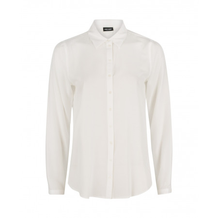 SALE % | Gerry Weber Collection | Hemdbluse mit Stitchingmuster | Weiß online im Shop bei meinfischer.de kaufen