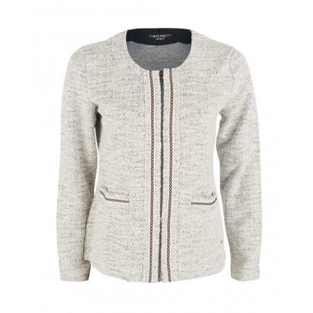 SALE % | Boss Casual | Blazer - Regular Fit - Zipper | Weiß online im Shop bei meinfischer.de kaufen