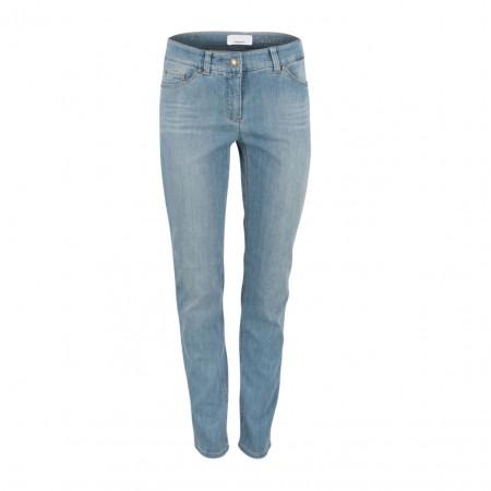 SALE % | Gerry Weber Edition | Hose - Best4me - 5 Pocket | Blau online im Shop bei meinfischer.de kaufen