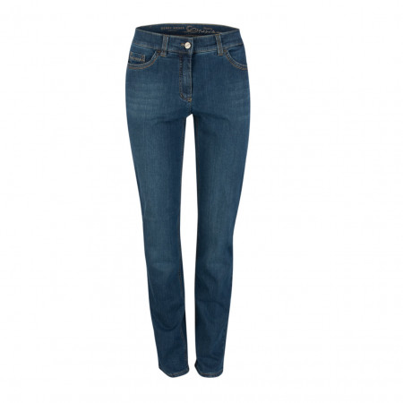SALE % | Gerry Weber Edition | Jeans - Feminine Fit - blau | Blau online im Shop bei meinfischer.de kaufen