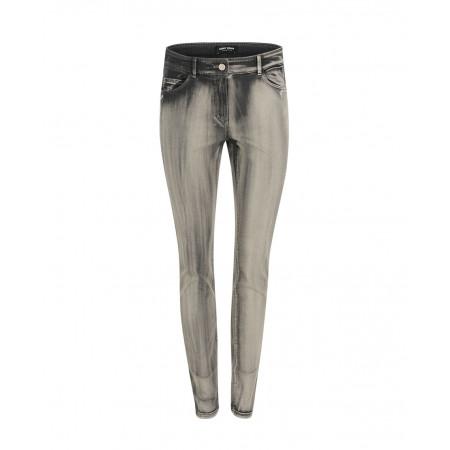 SALE % | Gerry Weber Collection | Melierte SLim Fit-Jeans | Grau online im Shop bei meinfischer.de kaufen