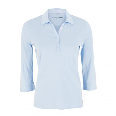 SALE % | Boss Casual | Poloshirt - Regular Fit - 3/4-Arm | Blau online im Shop bei meinfischer.de kaufen