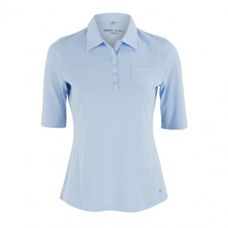 SALE % | Boss Casual | Poloshirt - Regular Fit - Brusttasche | Blau online im Shop bei meinfischer.de kaufen