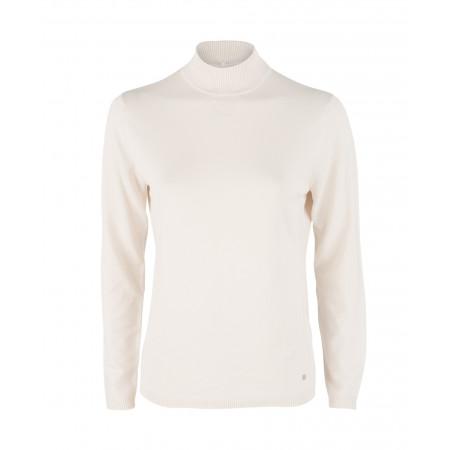 SALE % | Boss Casual | Pullover - Regular Fit - Turtleneck | Weiß online im Shop bei meinfischer.de kaufen