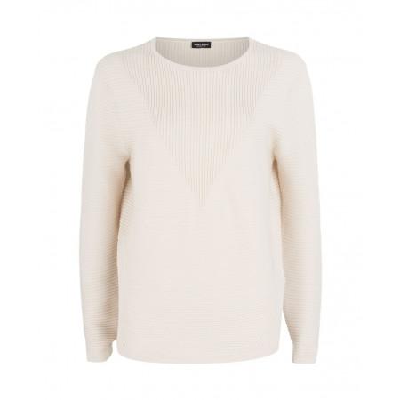 SALE % | Gerry Weber Collection | Strickpullover | Weiß online im Shop bei meinfischer.de kaufen