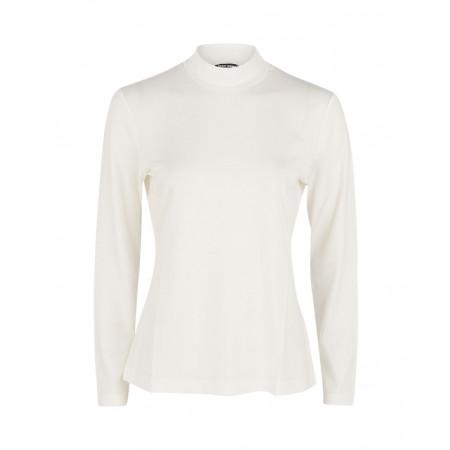 SALE % | Gerry Weber Collection | Jerseyshirt mit Turtleneck | Weiß online im Shop bei meinfischer.de kaufen