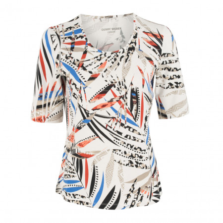 SALE % | Boss Casual | Jerseyshirt - fitted - 1/2-Arm | Bunt online im Shop bei meinfischer.de kaufen