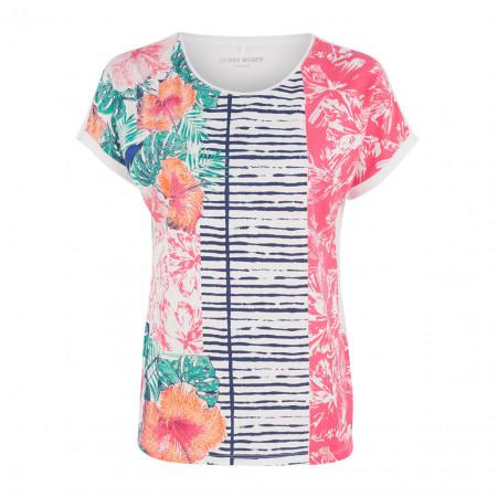 SALE % | Boss Casual | T-Shirt - oversized - Print | Bunt online im Shop bei meinfischer.de kaufen