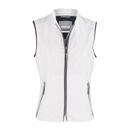 SALE % | Boss Casual | Weste - fitted - wasserabweisend | Weiß online im Shop bei meinfischer.de kaufen