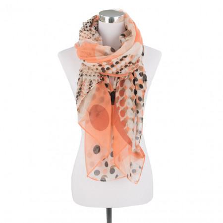 SALE % | Boss Casual | Schal - Muster | Orange online im Shop bei meinfischer.de kaufen