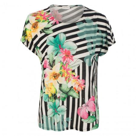 SALE % | Gerry Weber Casual | Shirt - Comfort Fit - Muster-Mix | Grün online im Shop bei meinfischer.de kaufen