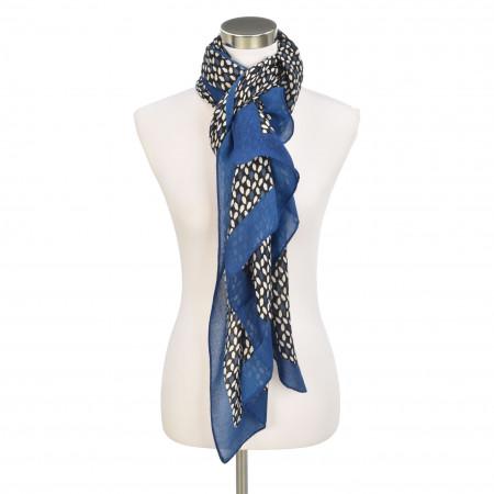 SALE % | Gerry Weber Collection | Schal - Muster | Blau online im Shop bei meinfischer.de kaufen