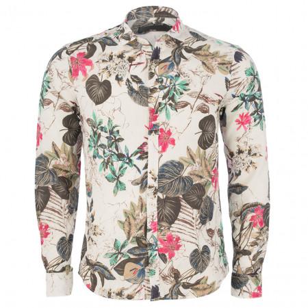 SALE % | Gianni Lupo | Freizeithemd - Slim Fit - Leinen-Mix | Weiß online im Shop bei meinfischer.de kaufen