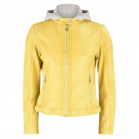 SALE % | Gipsy | Jacke - Regular Fit - Leder | Gelb online im Shop bei meinfischer.de kaufen