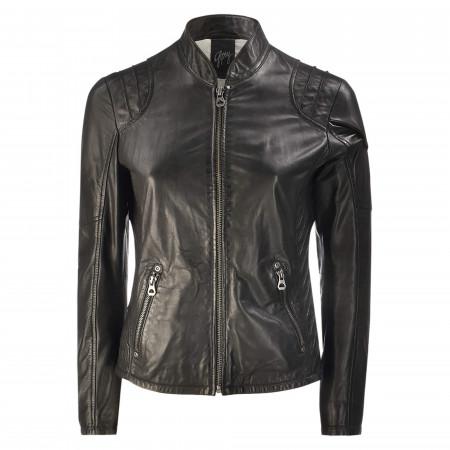 SALE % | Gipsy | Jacke - Regular Fit - Leder | Schwarz online im Shop bei meinfischer.de kaufen