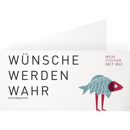 SALE % | MEIN FISCHER | Warengutschein 50,- € | Bunt online im Shop bei meinfischer.de kaufen