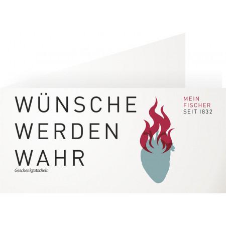 SALE % | MEIN FISCHER | Warengutschein 100,-€ | Bunt online im Shop bei meinfischer.de kaufen