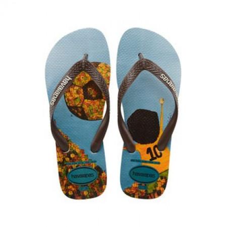 SALE % | Boss Casual | Havaianas  - Flip Flops - Print | Blau online im Shop bei meinfischer.de kaufen