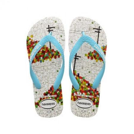 SALE % | Boss Casual | Havaianas  - Flip Flops - Print | Weiß online im Shop bei meinfischer.de kaufen