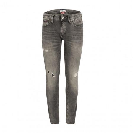 SALE %   Tommy Jeans   Jeans - Slim Fit - Stretch-Qualität   Grau online im Shop bei meinfischer.de kaufen