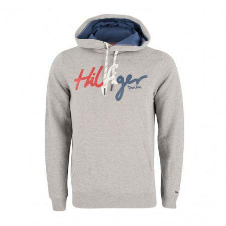 SALE %   Tommy Jeans   Sweatpullover - Regular Fit - Kapuze   Grau online im Shop bei meinfischer.de kaufen