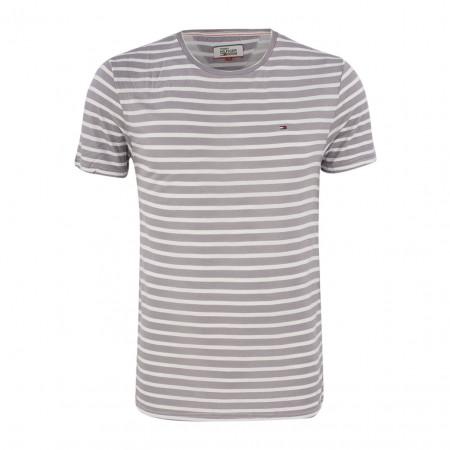 SALE %   Boss Casual   T-Shirt - Regular Fit - Stripes   Grau online im Shop bei meinfischer.de kaufen
