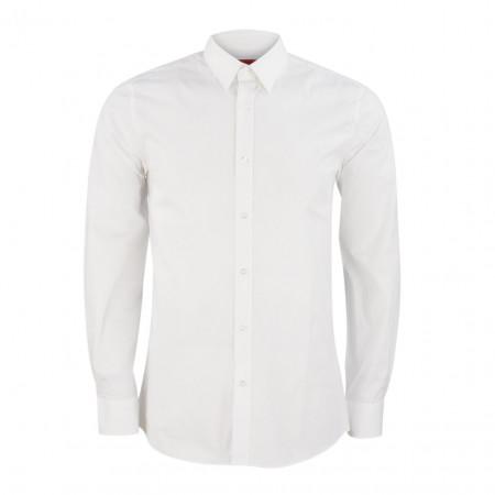 SALE % | Boss Casual | Hemd - Elisha01 10107866 01 - Slim Fit | Weiß online im Shop bei meinfischer.de kaufen