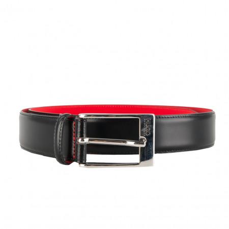 SALE % | Boss Casual | Ledergürtel - BARNEY 10111884 01 | Schwarz online im Shop bei meinfischer.de kaufen