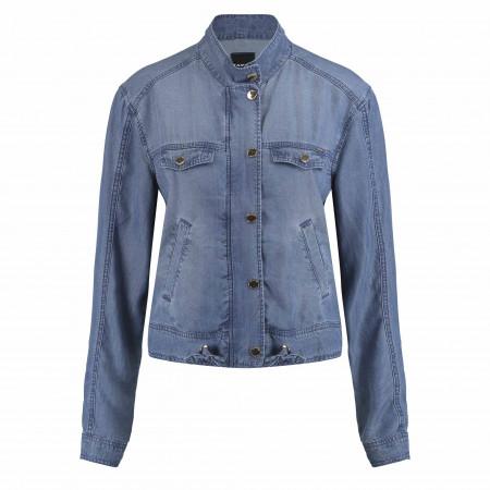 SALE %   Taifun   Jacke - Regular Fit - Jeans-Optik   Blau online im Shop bei meinfischer.de kaufen