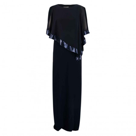 SALE % | Joseph Ribkoff | Kleid - Regular Fit - Pailletten | Blau online im Shop bei meinfischer.de kaufen