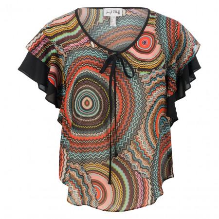 SALE % | Joseph Ribkoff | Shirt - oversized - Farbmix | Bunt online im Shop bei meinfischer.de kaufen