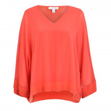 SALE %   Joseph Ribkoff   Tunika - Loose Fit - unifarben   Orange online im Shop bei meinfischer.de kaufen