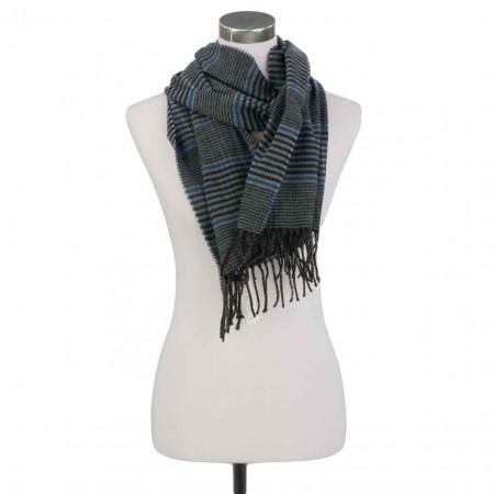 SALE % | J.Ploenes | Schal - Muster | Blau online im Shop bei meinfischer.de kaufen