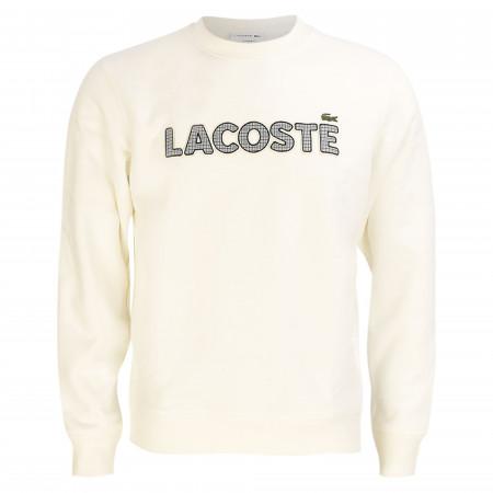 SALE % | Lacoste | Sweatshirt - Regular Fit - Crewneck | Weiß online im Shop bei meinfischer.de kaufen