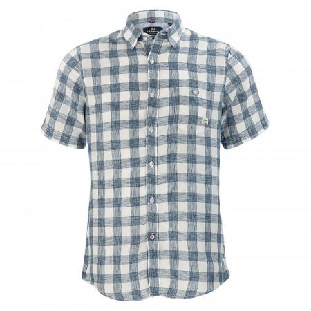 SALE %   Lerros   Freizeithemd - Regular Fit - Under-Button-Down   Blau online im Shop bei meinfischer.de kaufen