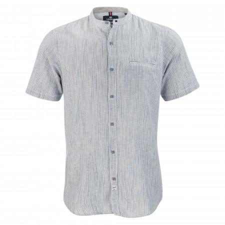 SALE % | Lerros | Freizeithemd - Regular Fit - Stehkragen | Grau online im Shop bei meinfischer.de kaufen