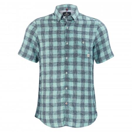 SALE % | Lerros | Freizeithemd - Regular Fit - Under-Button-Down | Grün online im Shop bei meinfischer.de kaufen
