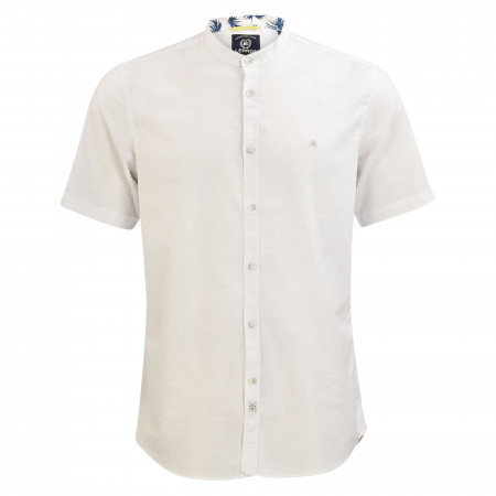 SALE %   Lerros   Freizeithemd - Regular Fit - Stehkragen   Weiß online im Shop bei meinfischer.de kaufen