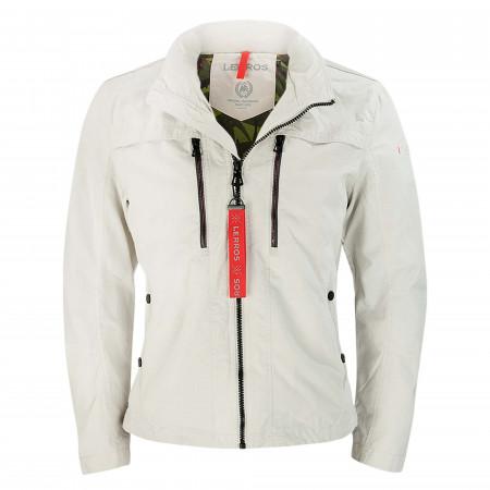 SALE % | Lerros | Jacke - Regular Fit - Zip | Beige online im Shop bei meinfischer.de kaufen