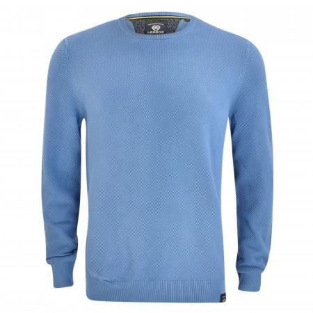 SALE % | Lerros | Strickpullover - Regular Fit - unifarben | Blau online im Shop bei meinfischer.de kaufen