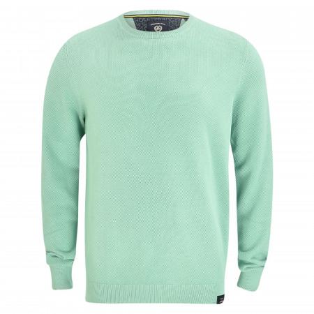 SALE % | Lerros | Strickpullover - Regular Fit - unifarben | Grün online im Shop bei meinfischer.de kaufen