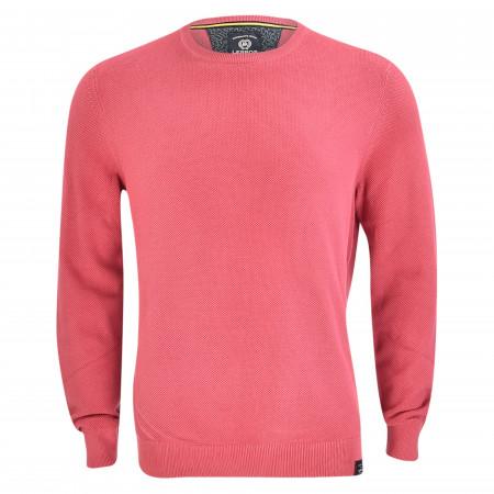 SALE % | Lerros | Strickpullover - Regular Fit - unifarben | Pink online im Shop bei meinfischer.de kaufen