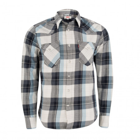 SALE %   Levi's   Hemd - fitted - Classic Kent   Grau online im Shop bei meinfischer.de kaufen