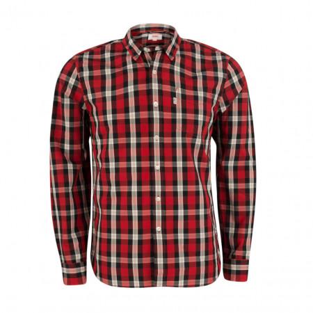 SALE % | Levi's | Hemd - fitted - Classic Kent | Rot online im Shop bei meinfischer.de kaufen