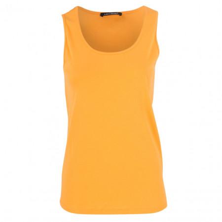 SALE %   Luisa Cerano   Top - Slim Fit - Crewneck   Orange online im Shop bei meinfischer.de kaufen