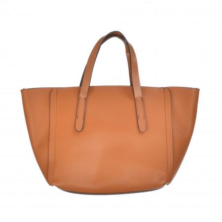 SALE % | MANGO | Handtasche - Lederoptik | Braun online im Shop bei meinfischer.de kaufen