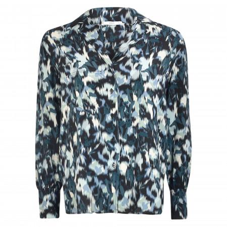 SALE %   MANGO   Hemdbluse - Loose Fit - Alexis   Blau online im Shop bei meinfischer.de kaufen