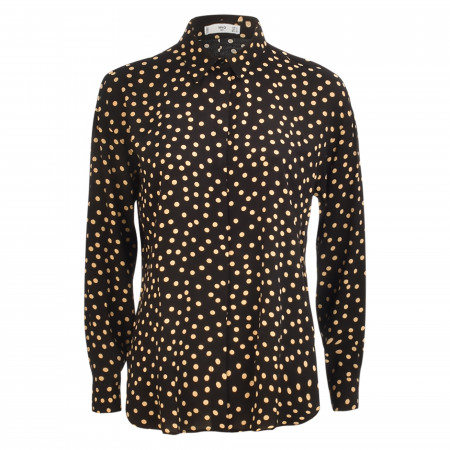 SALE %   MANGO   Hemdbluse - Loose Fit - Cercle   Schwarz online im Shop bei meinfischer.de kaufen