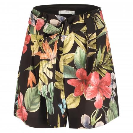 SALE %   MANGO   Shorts - Loose Fit - Flora   Bunt online im Shop bei meinfischer.de kaufen