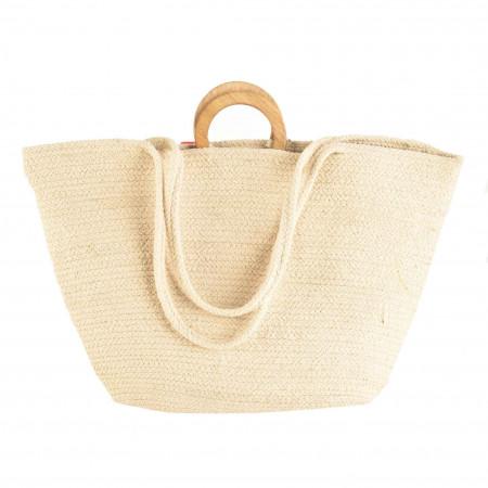 SALE %   MANGO   Tasche - Jute   Beige online im Shop bei meinfischer.de kaufen